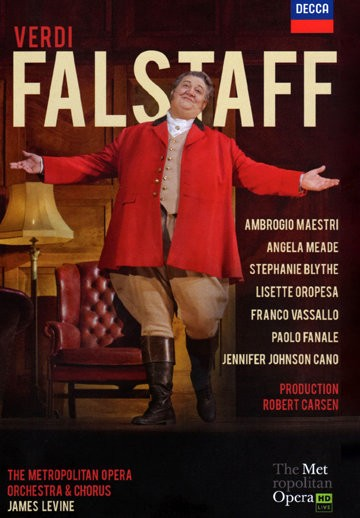 Ambrogio Maestri in Falstaff at the Metropolitan Opera, DVD Cover
