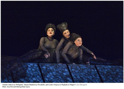 Lisette Oropesa, Jennifer Johnson and Tamara Mumford