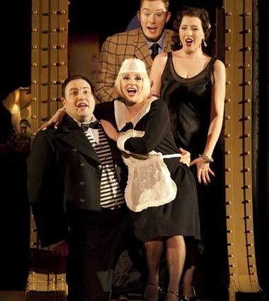 Lisette Oropesa, Claire Ormshaw, Robin Tritschler and Wynne Evans