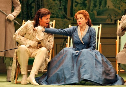 Lisette Oropesa and Susan Graham