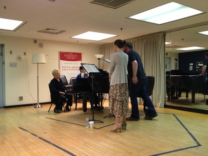 Lisette Oropesa, Ken Noda, Brian Mulligan and Renata Scotto
