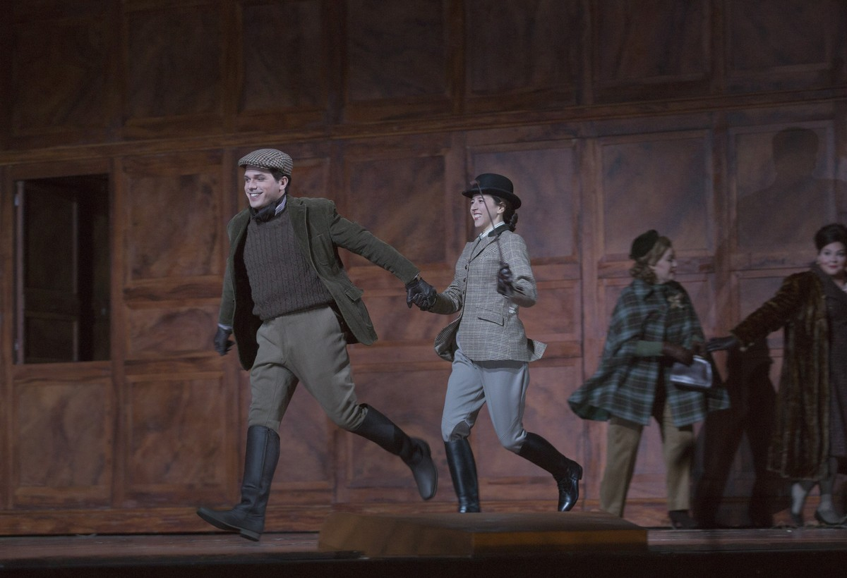 Lisette Oropesa in Falstaff at the Metropolitan Opera