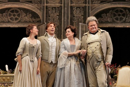 Lisette Oropesa, Zachary Nelson, Susanne Mentzer and Dale Travis