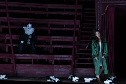Lisette Oropesa as Gilda and Franco Vassallo as Rigoletto