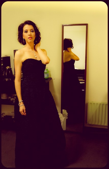 Lisette Oropesa pre-concert with the Concertgebouw in Amsterdam