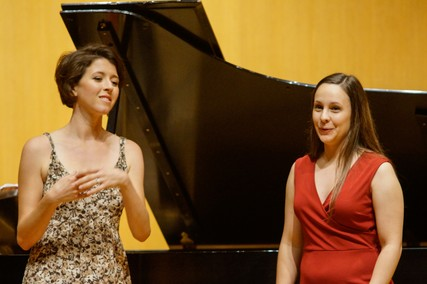 Lisette Oropesa and Amelia Sharp