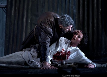 Lisette Oropesa and Luca Salsi