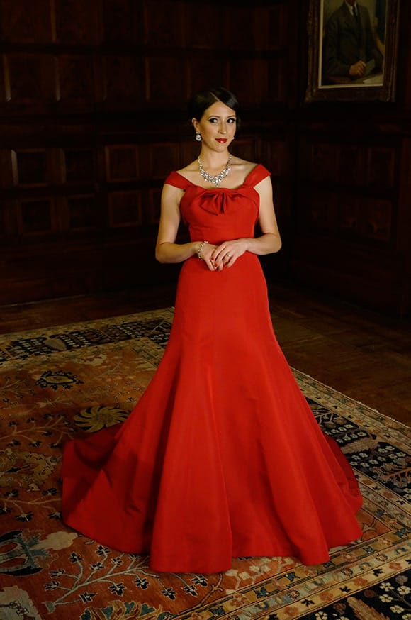 Lisette Oropesa at the Park Avenue Armory, New York