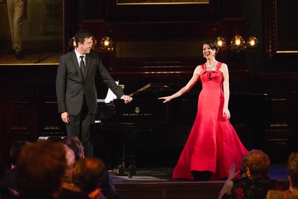 Lisette Oropesa and John Churchwell