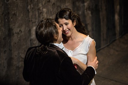 Lisette Oropesa and Ivan Magri