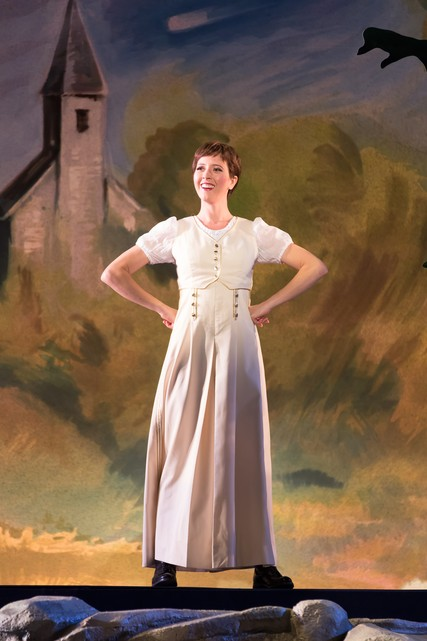 Lisette Oropesa as Marie in La fille du régiment at the Washington National Opera
