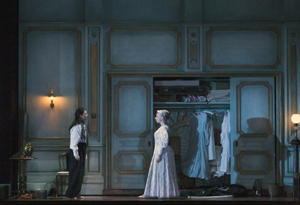 Lisette Oropesa and Sarah Northgraves in Lucia di Lammermoor at the Royal Opera House
