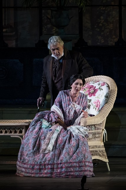 Lisette Oropesa and Placido Domingo