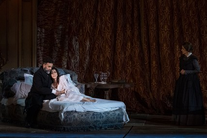 Lisette Oropesa and Alessandro Spina