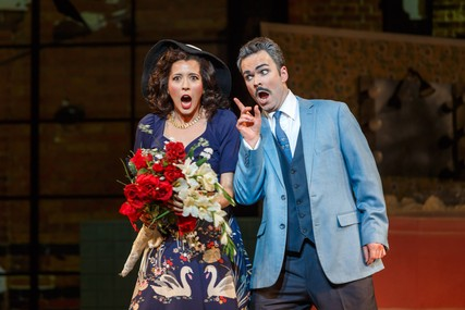 Lisette Oropesa and Joshua Hopkins