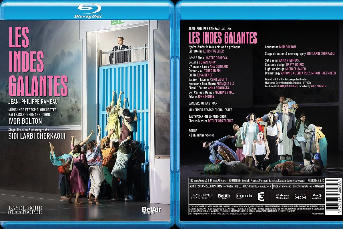 Les Indes Galantes on Blu-Ray