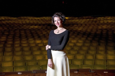 Lisette Oropesa at the River Center in Baton Rouge Louisiana, Photo by Collin Richie.