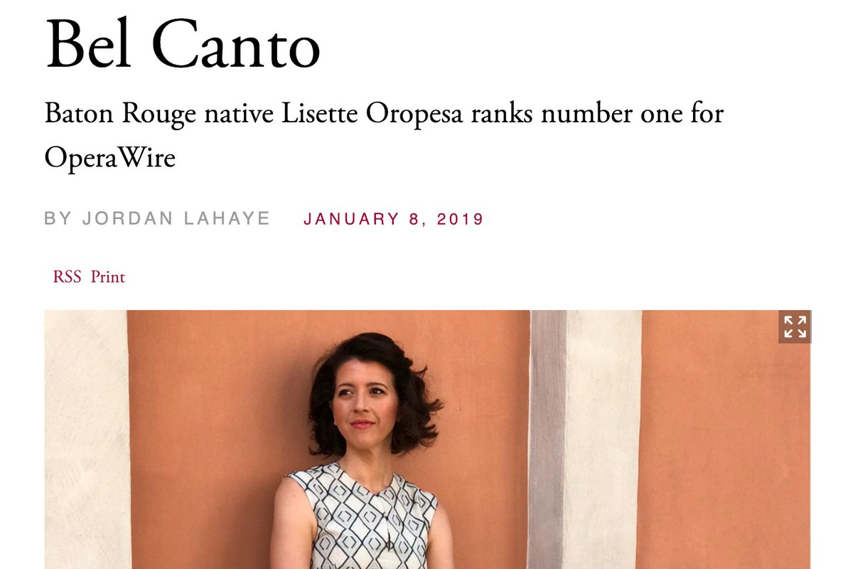 Lisette Oropesa interviewed in Country Roads Magazine