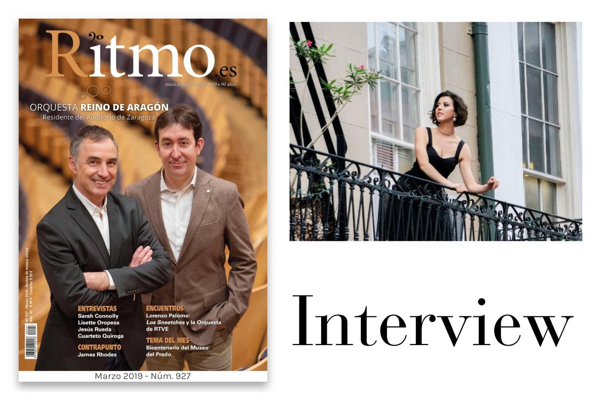 Lisette Oropesa interviewed in Ritmo Magazine.