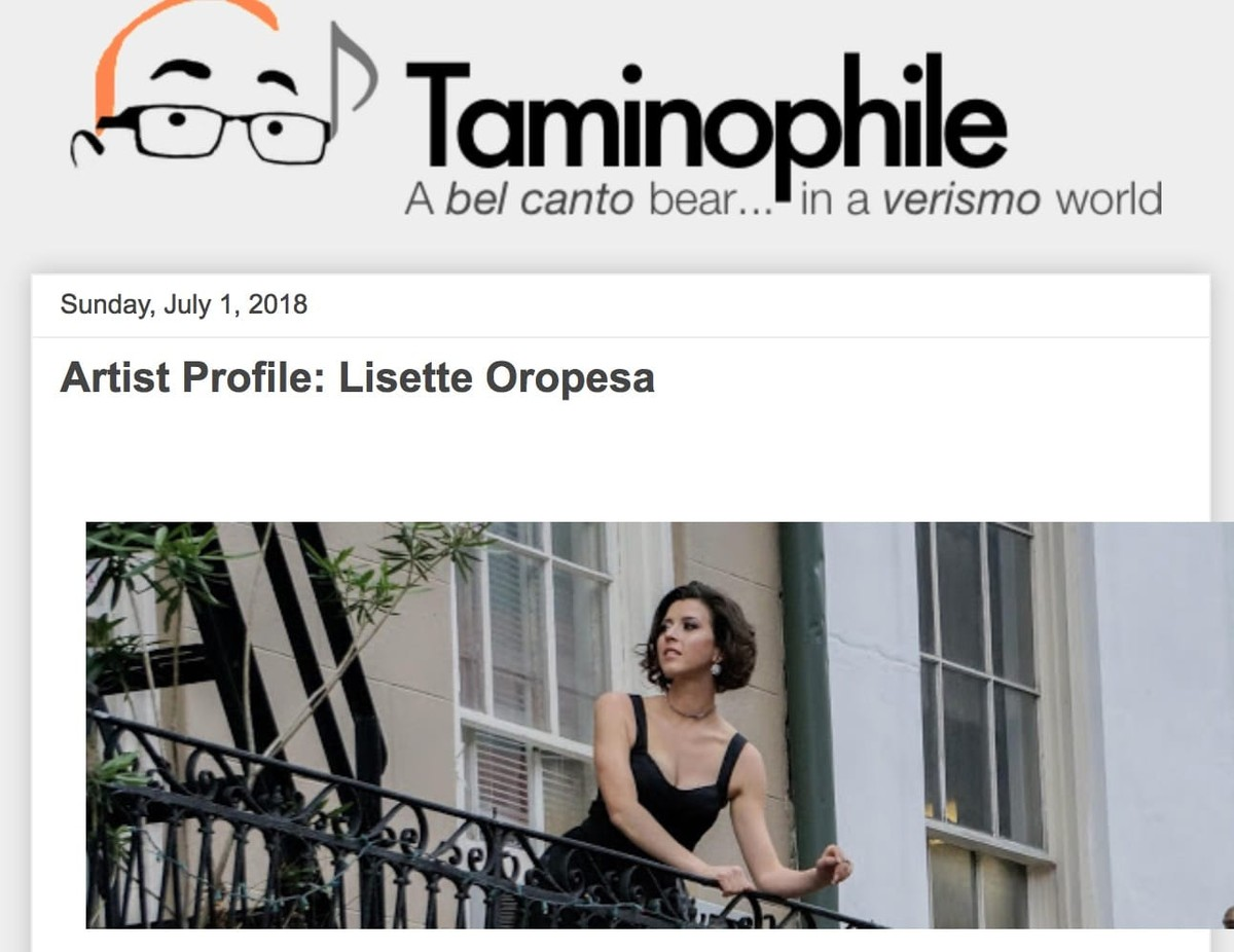 Lisette Oropesa interview with Taminophile