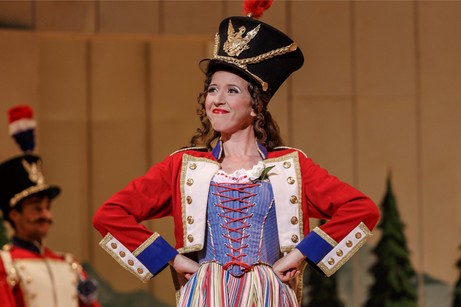 Lisette Oropesa as Marie in La Fille du Regiment at the Pittsburgh Opera