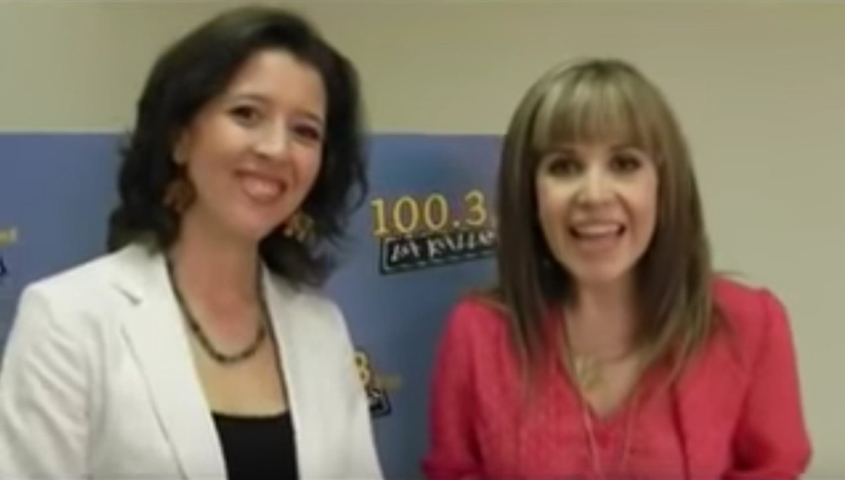 Lisette Oropesa interviewed with 100.3 La Kalle