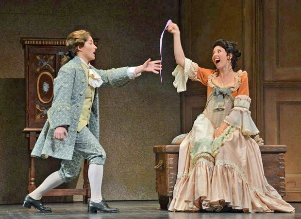 Lisette Oropesa in Marriage of Figaro at the New Orleans Opera