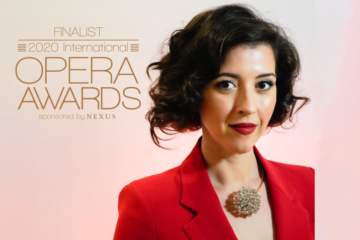 Lisette is nominated for best female singer for the 2020 International Opera Awards