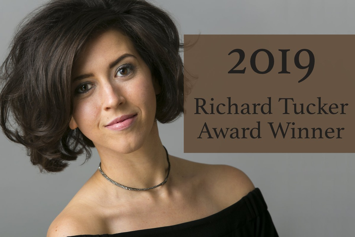 Lisette Oropesa wins the 2019 Richard Tucker Award