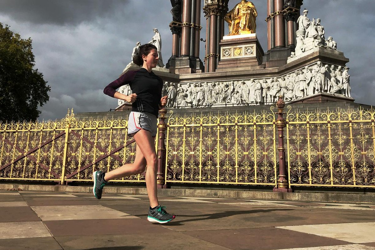 Lisette Oropesa running in London