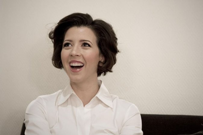 Lisette Oropesa at the Teatro Real in Madrid being interviewed by Codalario.