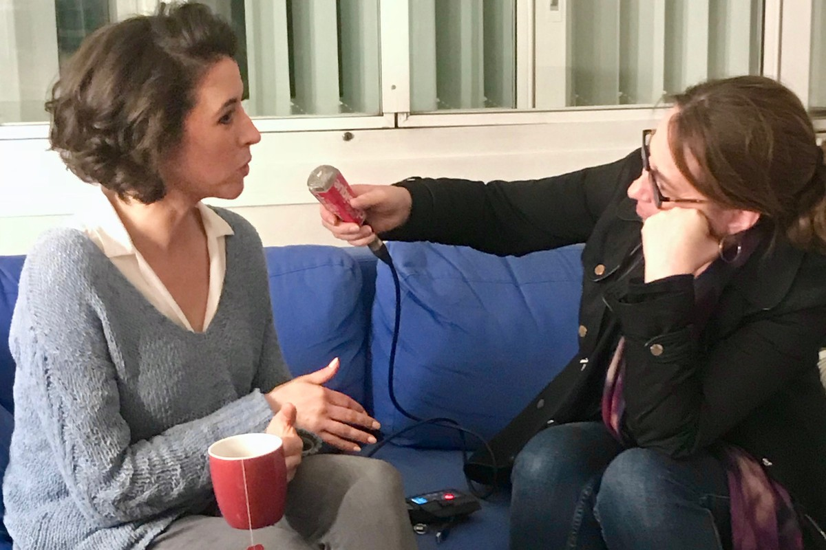 Lisette Oropesa is interviewed by Laure Mézan of Radio Classique