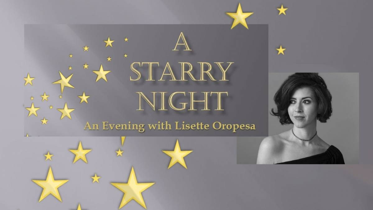 A Starry Night with Lisette Oropesa
